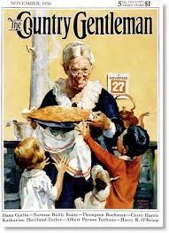 rockwell thanksgiving pie country gentleman 1930 tim latimer