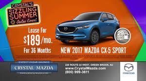 new mazda sales crystal mazda u0027s sizzling summer sales event youtube