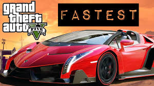 which is faster lamborghini or fastest car in gta 5 lamborghini veneno