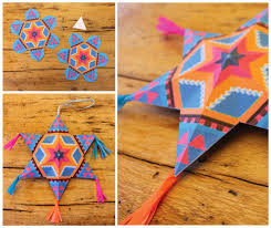 4 and easy to make mexican paper craft decorations
