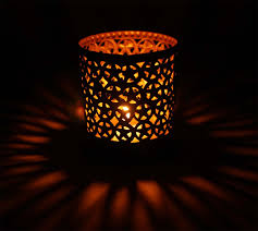 star shaped tea lights shaped tea light candle holder handmade in iron black exteriors