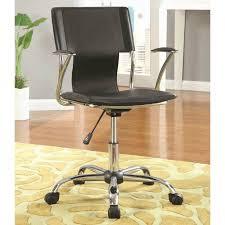 Adjustable Height Chairs Adjustable Height Black Task Chair