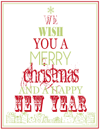 free printable merry christmas u0026 happy new year the 36th avenue