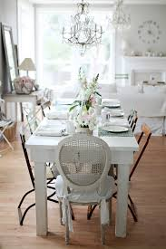 shabby chic dining room tables easy diy projects for a rustic decorated home bamboo floor dining
