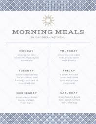 menu planners templates menu planner templates by canva
