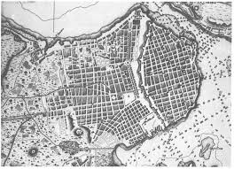Havana On Map Panorama Of Cuba In The 1850s