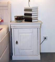 Schlafzimmer Komplett Kiefer Massiv Bett Mit Bettkasten 180x200 Und Nachtischen Kiefer Massiv Weiß