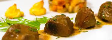 recette de cuisine civet de chevreuil civet de chevreuil à la bière pommes duchesse et papillote de légumes