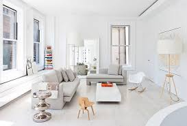 scandinavian color books bring color to this scandinavian style living space
