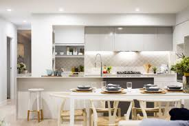 backsplashes for white kitchens 30 gorgeous grey and white kitchens that get their mix right