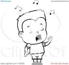 9 images of boy singing coloring page little boy singing