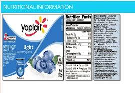 Wonderful Ingredients In Yoplait Light Yogurt F25 On Stunning