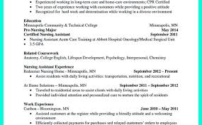 sample cover letter for cna with no experience image collections