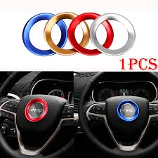 jeep steering wheel emblem steering wheel soft enamel emblem for jeep grand cherokee in car