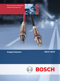 bosch australia oxygen sensor catalogue 2013 vehicle technology