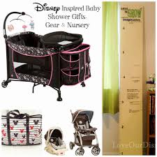 disney inspired baby shower gifts love our crazy life