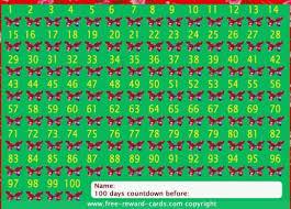 countdown calendar 100 nights website