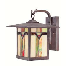 Verano Outdoor Wall Sconce by Allen Roth Vistora 11 75 In H Bronze Outdoor Wall Light Lws0547b