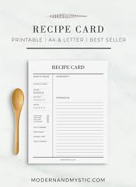 printable recipe cards template recipe card printable recipe cards recipe sheet printable