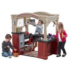 Step Two Play Kitchen by Walk In Step 2 Play Kitchen Grand With Grill Lifestyle Dream About