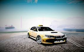 2011 subaru wrx modified 2011 subaru impreza wrx sti taxi gta san andreas car mod hd