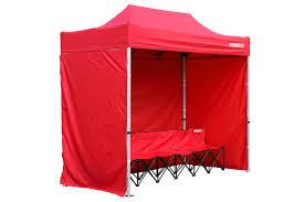 10 X 5 Canopy by Kwik Tent 5 X 10 With Kwik Bench 9b36 Kwik Goal Soccer Store