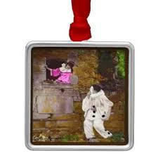 pierrot clown ornaments keepsake ornaments zazzle