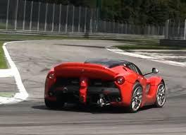laferrari back laferrari xx suffers a broken rear suspension w