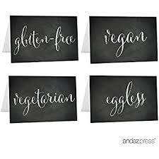 andaz press table tent printable place cards on