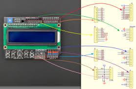 lcd keypad shield for arduino sku dfr0009 dfrobot electronic