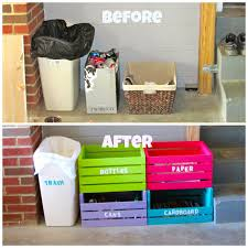 Diy Home Center by Laura U0027s Plans Easy D I Y Home Recycling Center