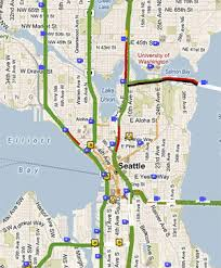 seattle map traffic sdot map puts sdot on the map