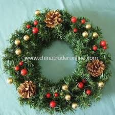 wreaths comes with artificial garland suitable for