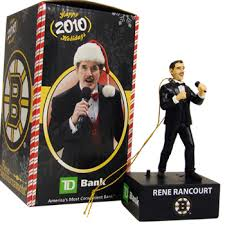 bruins to give away singing rene rancourt ornaments stanley cup