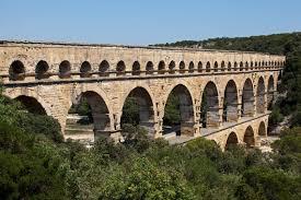roman aqueduct bridge pont du gard france 10601 aivar
