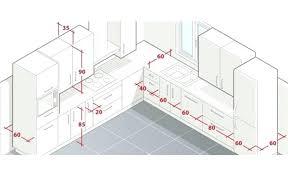 plan de cuisine en ligne plan de cuisine dimension plan travail cuisine am l d dimensions
