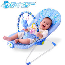 Recliner Chair For Child Dolphin Baby Multifunctional Recliner Chairs Cradle Swinging