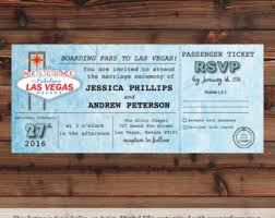 wedding invitations las vegas las vegas invitation etsy