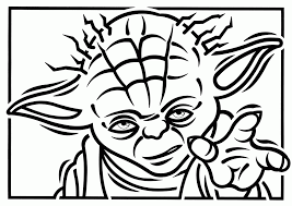 yoda printable coloring pages coloring home