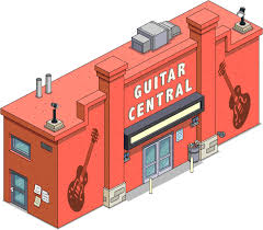 guitar center thanksgiving guitar central the simpsons tapped out wiki fandom powered by