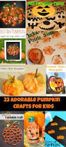 23 adorable pumpkin crafts for kids u2013 the pinterested parent