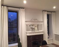 Return Rod Curtains Curtain Rods Etsy