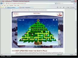 christmas tree light game norad tracks santa christmas tree light up game youtube