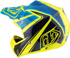 troy lee motocross helmets troy lee designs bmx gear troy lee designs se3 neptune yellow