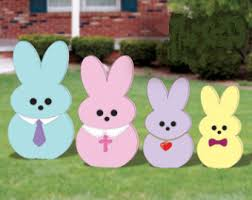 outdoor easter decorations outdoor easter decor etsy
