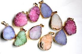 rock necklace jewelry images Jewelry that rocks geode and rock necklaces jpg