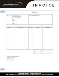 25 free service invoice templates billing in word and excel