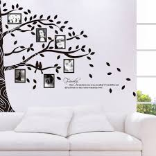 shop large vinyl family tree photo frames wall decal
