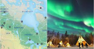 places you can see the northern lights this map shows you the best places to view the northern lights in