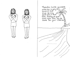 interactive coloring page aunties bible lessons